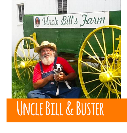 Uncle Bill at the farm